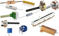 Fixed value Resistors, Presets and Potentiometers