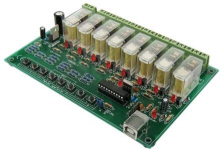 Velleman 8 Channel USB Relay Card